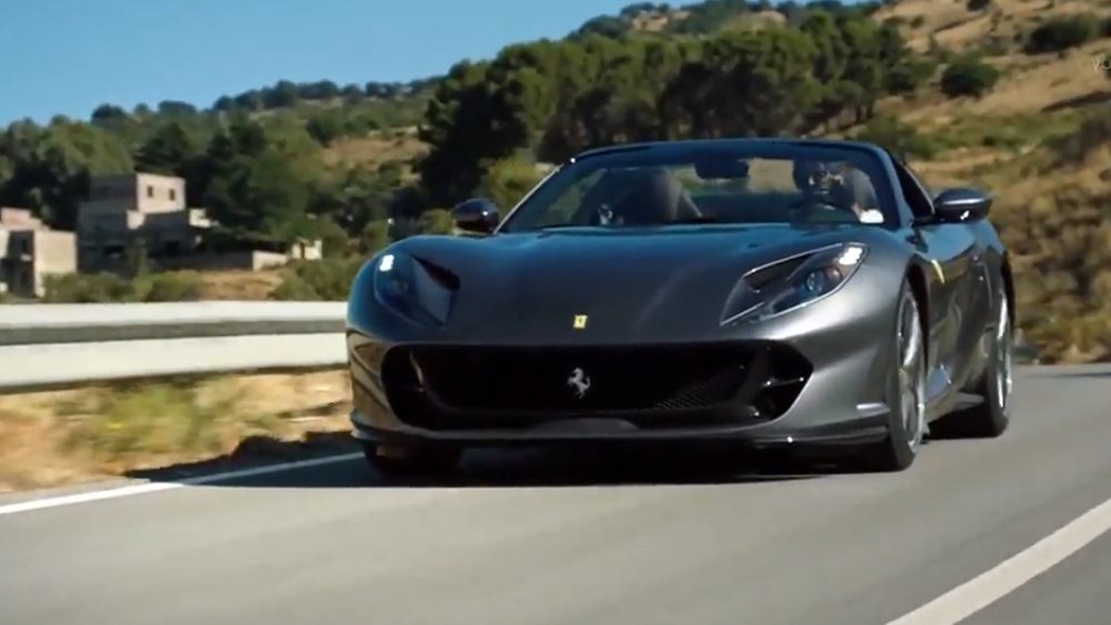 Ferrari 812 GTS mẫu xe đặc biệt nhất của Ferrari suốt 50 năm qua